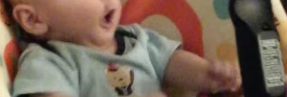 cute baby remote control
