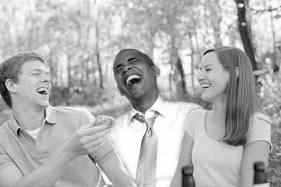 funny engagement photos