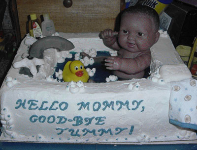 Marvelous ... Gross Baby Cake ...