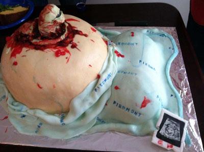 ... Gross Baby Cake ...