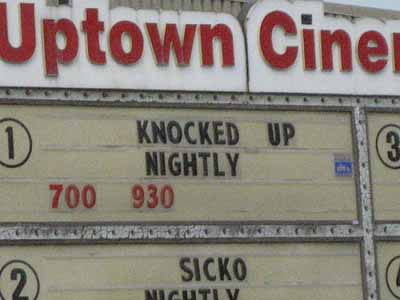 funny marquee titles