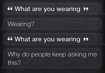 funny siri answers