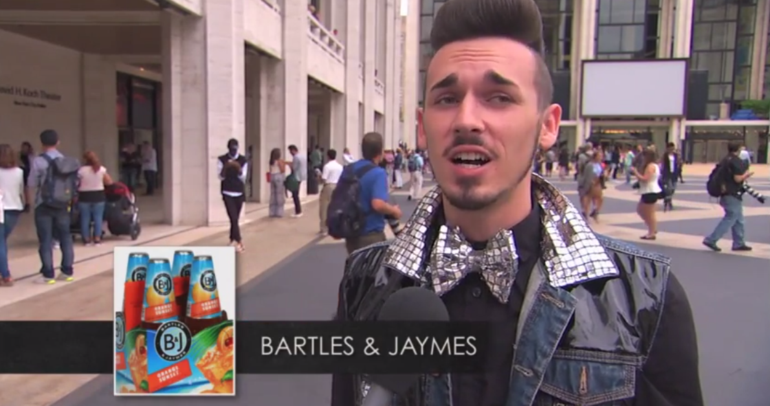 jimmy kimmel video fashion week
