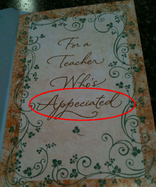 funny greeting card fails