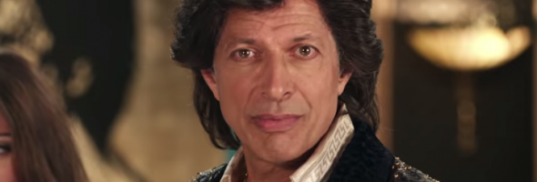jeff goldblum commercial