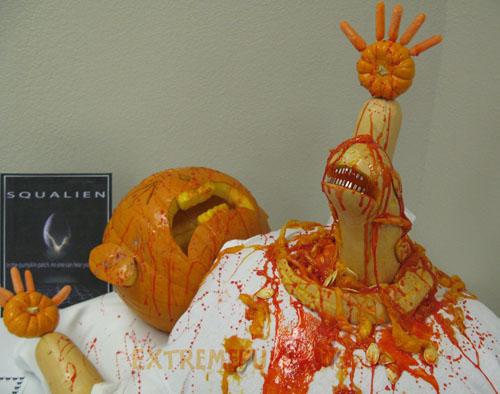 Funny Halloween Pumpkins Carving 13