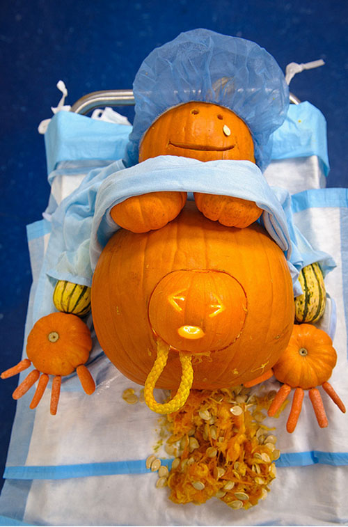 Delicieux Funny Halloween Pumpkins Carving 15