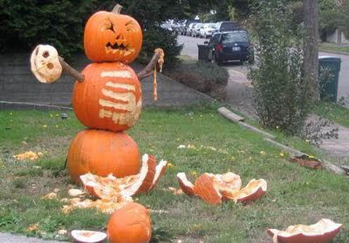 Funny Scary Weird And Just Plain Wrong Pumpkin Carvings Dose Of Funny