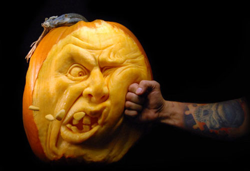 Exceptionnel Funny Halloween Pumpkins Carving 29
