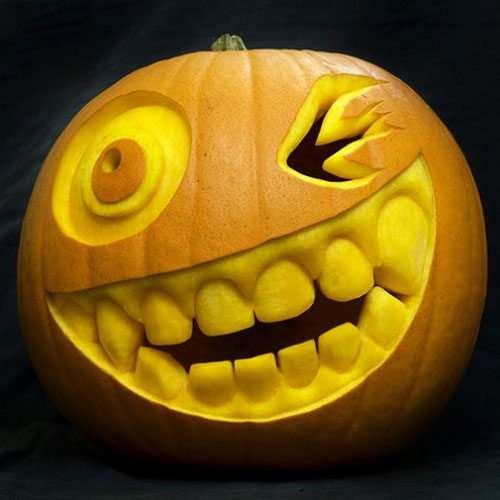 Funny scary weird and just plain wrong pumpkin carvings Halloween pumpkin carving ideas