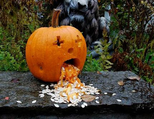 Funny scary weird and just plain wrong pumpkin carvings