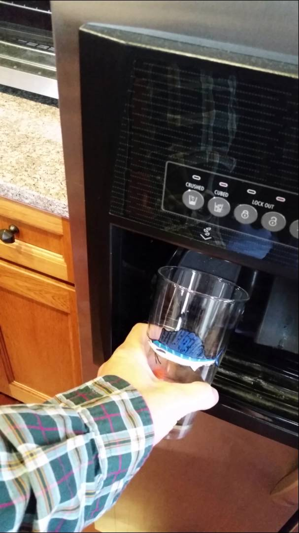 Man Finds New Use for Ice Maker