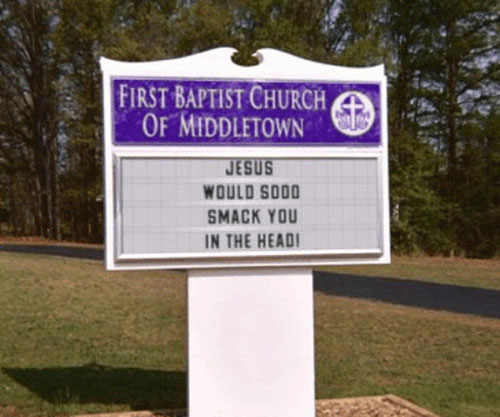 Funny Church Signs 8 Dose Of Funny