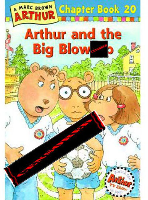 censored kid books funny