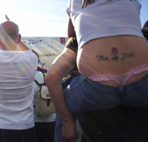 bad tramp stamps